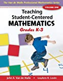 img - for Teaching Student-Centered Mathematics: Grades K-3 book / textbook / text book