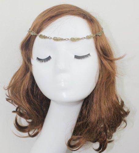 Wiipu New Design Hairband Elastic Hair Band Leaf Headchain Headband(Wiipu-C164)