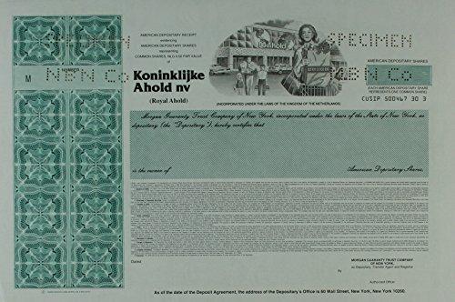 koninklijke-ahold-nv-netherlands-stock-certificate-aqua-specimen-sc-aaa-944