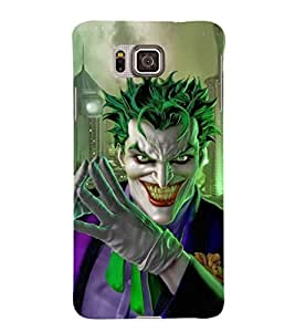EPICCASE Villan Case Mobile Back Case Cover For Samsung Galaxy Alpha (Designer Case)