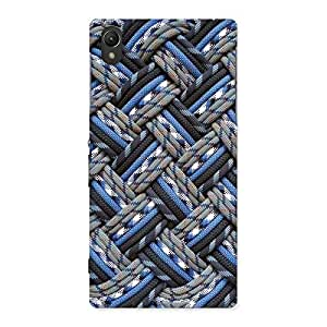 Stylish Pattern Knot Back Case Cover for Sony Xperia Z1