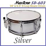 Maxtone/マックストーン SD-603/Silver スネア ランキングお取り寄せ