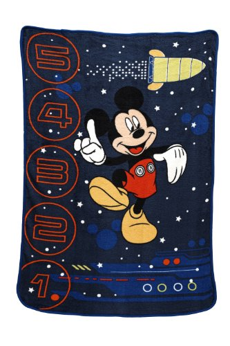 Disney Zero Gravity Coral Fleece Blanket, Mickey Mouse