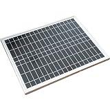ソーラーパネル 20W 単結晶 太陽光パネル