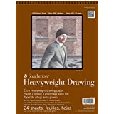 Strathmore 400 Series Heavyweight Drawing Pad, Medium Surface, 18