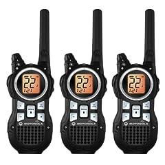 Motorola TRIPLE PACK Talkabout FRS 2-Way Radios, Completely Weatherproof, with NOAA... by Motorola