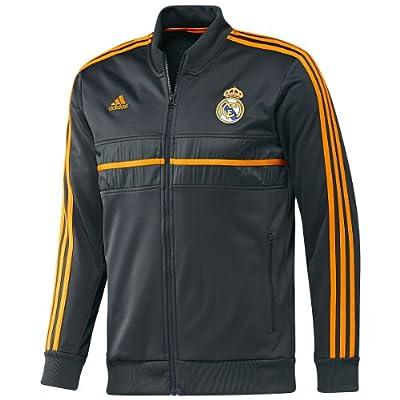 ADIDAS Real Madrid CF Anthem Jacket [DARKSHALE/BLACK] (XL)