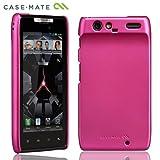 【ストラップホールつき】Case-Mate au Motorola RAZR IS12M Barely There Case, Matte Hot Pink ベアリーゼア スリム・ハードケース, マット・ホット・ピンク CM018158