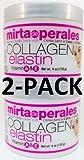 Mirta De Perales Collagen Elastin Cream 4 Oz. 2-PACK