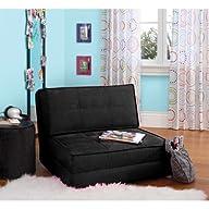 your zone – flip chair, black