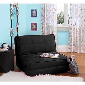 your zone - flip chair, black