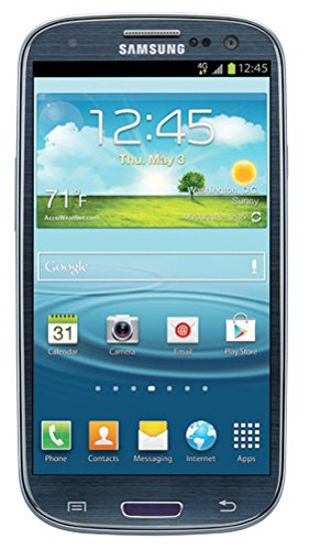 Samsung Galaxy S Iii T999 16Gb Unlocked Gsm Phone With Android 4.0 Os, Super Amoled Touchscreen, 8Mp Camera, Gps, Wi-Fi, Bluetooth And Microsd Slot - Pebble Blue
