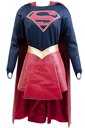 Supergirl Kara Danvers Cosplay Costume Adult