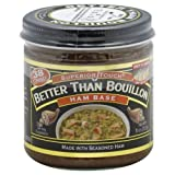 Better Than Ham Base Bouillon, 8 Ounce -- 6 per case.