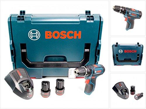Bosch-GSB-108-2-LI-Akku-Schlagbohrschrauber-in-L-Boxx-2-x-GBA-108-V-25-Ah-Akku-AL-1130-CV-Schnelllader