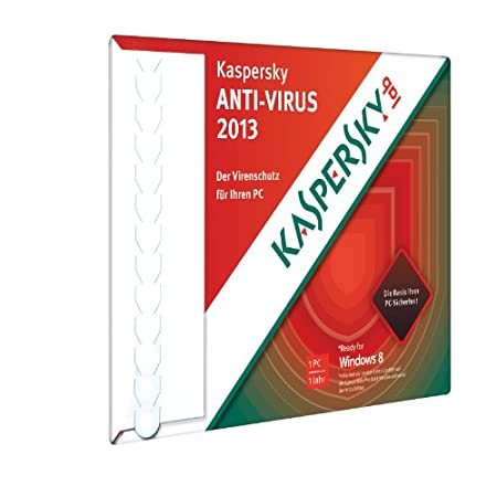 Kaspersky Antivirus 2013 (Frustfreie Verpackung)