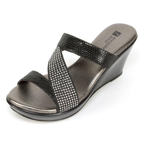 12. White Mountain Women's Rare Wedge Sandal