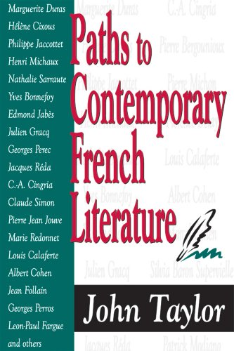 Paths to Contemporary French Literature, Vol. 1