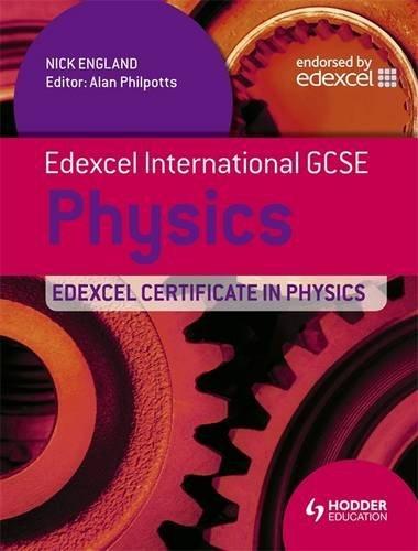 Edexcel International GCSE and Certificate Physics Student's Book & CD (Edexcel Igcse)