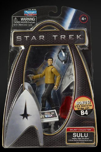 Star Trek Movie Playmates 3 3/4 Inch Action Figure Sulu (Enterprise Uniform)