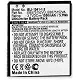 Samsung SGH-T959V Cell Phone Battery (Li-Ion 3.7V 1550mAh) Rechargable Battery - Replacement For Samsung GALAXY S Cellphone Battery
