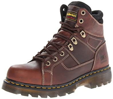 "Men's Dr. Martens 6"" Ironbridge Work Boots Teak, TEAK, UK4/US5 MENS"