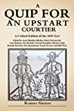 Quip for an Upstart Courtier (0557475082) by Greene, Robert
