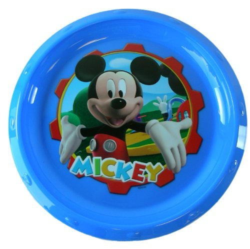 Mickey Mouse plastic plate- Kids Disney dinnerware - 1