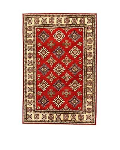 L'Eden del Tappeto Teppich Uzebekistan Super rot/beige 295t x t200 cm