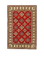L'EDEN DEL TAPPETO Alfombra Uzebekistan Super Rojo/Beige 200 x 295 cm