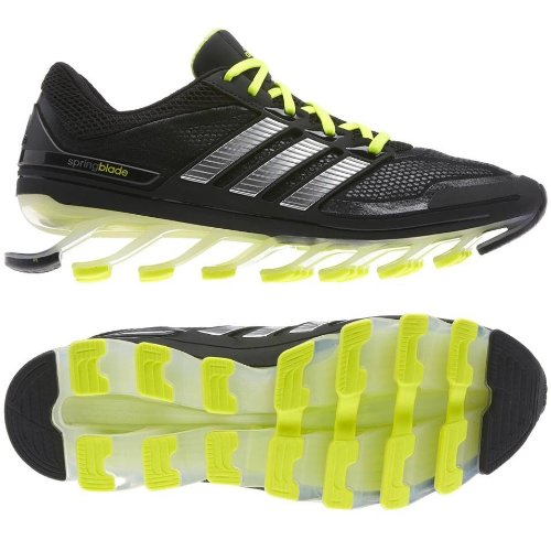size 40 439bf 6bac7 Adidas Springblade G66970 Black silver electricity Razor Men s Running Shoes  Size 10 5