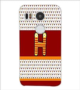 PrintDhaba GRANDbet H D-5819 Back Case Cover for LG NEXUS 5X (Multi-Coloured)