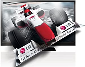 LG 60PZ250 152 cm (60 Zoll) 3D Plasma Fernseher  (Full-HD, 600Hz SFD, DVB-T/C, CI+) schwarz