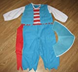 Little Tikes Pirate Costume (Blue) Size 2t-4t