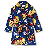 Disney Jake and the Neverland Pirates Boys Toddler Plush Sleep Robe Bathrobe 4t