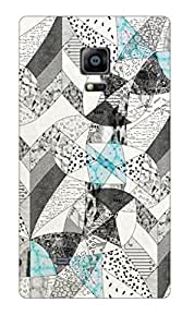Go Hooked Samsung Galaxy Note Edge Printed Soft Silicone Back Cover