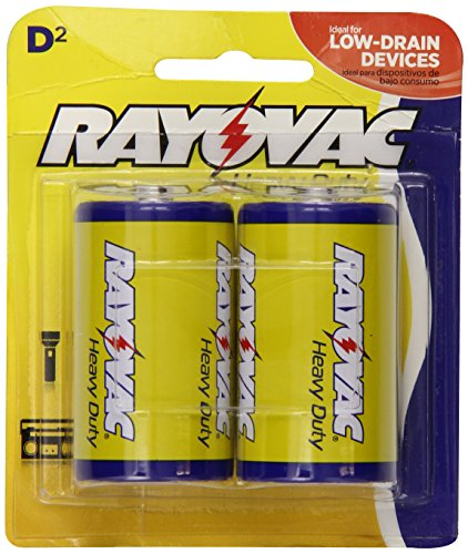 Rayovac Heavy Duty Batteries D Size