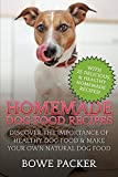Homemade Dog Food Recipes: Discover The Importance Of Healthy Dog Food & Make Your Own Natural Dog Food
