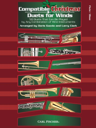 Compatible Christmas Duets for Winds - Flute or Oboe - SCORE