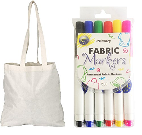 10 Pack Natural Cotton Tote Shopper Bags  Free
