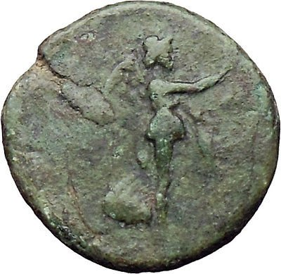 Stratonikeia (Stratonicaea) in Caria Victory Nike UNPUBLISHED Greek Coin i30664