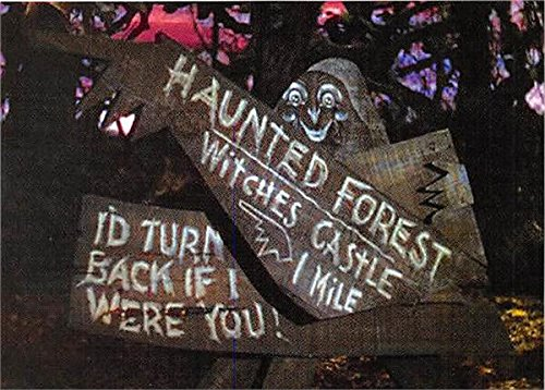 [Haunted Forest witches Castle sign Wizard of Oz trading card 2007 II Breygent #48] (Haunted Forest Wizard Of Oz)