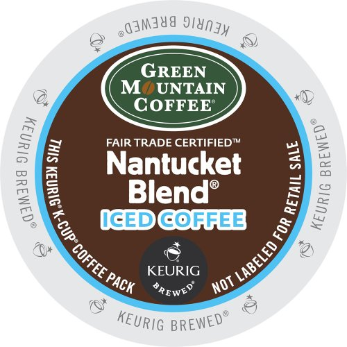 Keurig, Green Mountain Coffee, Nantucket Blend Iced Coffee, K-Cup Packs, 72 Count front-611908