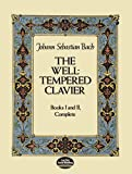 img - for The Well-Tempered Clavier: Books I and II, Complete (Dover Music for Piano) book / textbook / text book