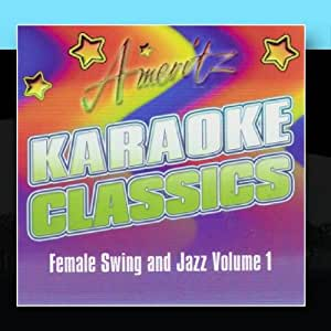 Karaoke - Female Swing and Jazz Vol. 1