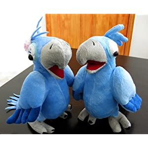 Blu and Jewel Macaw Plush