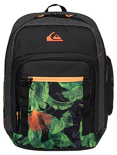 Quiksilver zaino Schoolie Backpack, Uomo, Zaino, Rucksack Schoolie Backpack, AG47 Remix Black