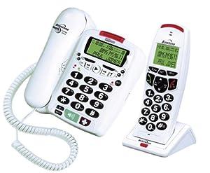 Binatone Speakeasy 3410 Combo DECT Answering Machine - White