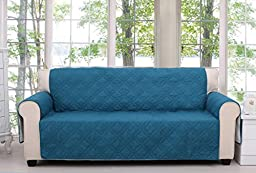 Saratoga Teal Furniture Protector, Sofa