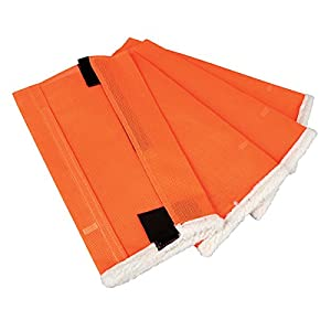 Shoo Fly Leggins for Horses - Set of 4 Large Orange